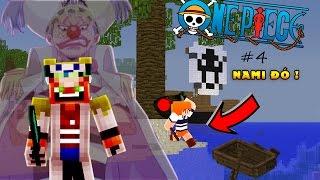 Minecraft One Piece Tập 4 : HẢI TẶC BUGGY VÀ KẺ PHẢN BỘI NAMI   Tigerr ✔