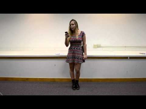 Slam Poetry: Fitting Into Society's Image at LTPS November 2014