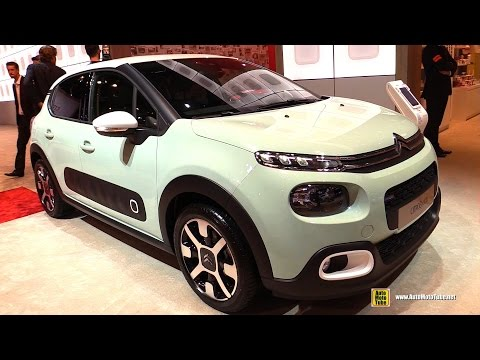2017 Citroen C3 PureTech 82hp Shine - Exterior and Interior Walkaround - 2016 Paris Motor Show