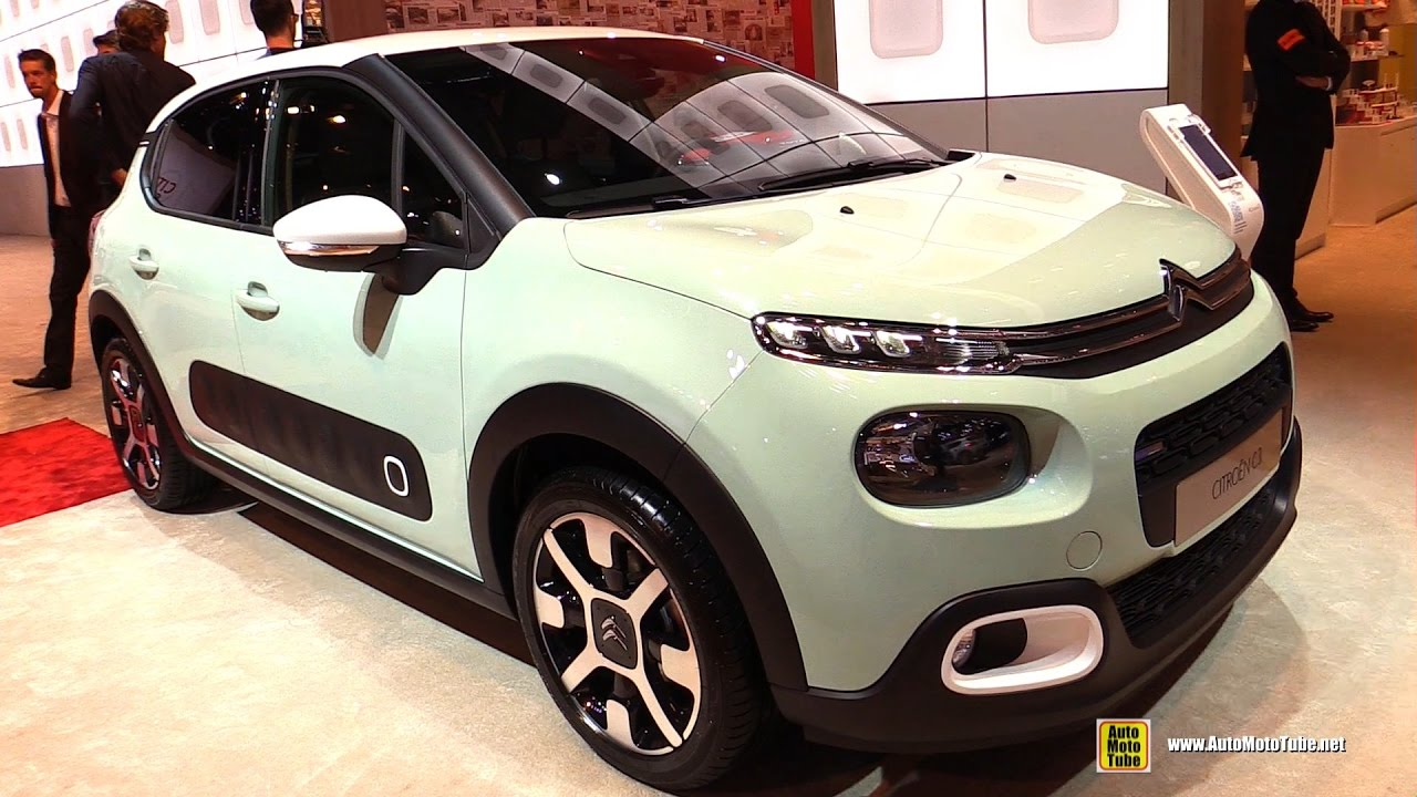 2017 citroen c3 puretech 82hp shine exterior and interior walkaround 2016 paris motor show. Black Bedroom Furniture Sets. Home Design Ideas