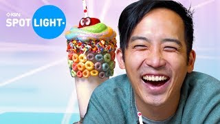 Jimmy Wong Celebrates Super Mario Odyssey with this Themed Hot Chocolate - IGN Spotlight