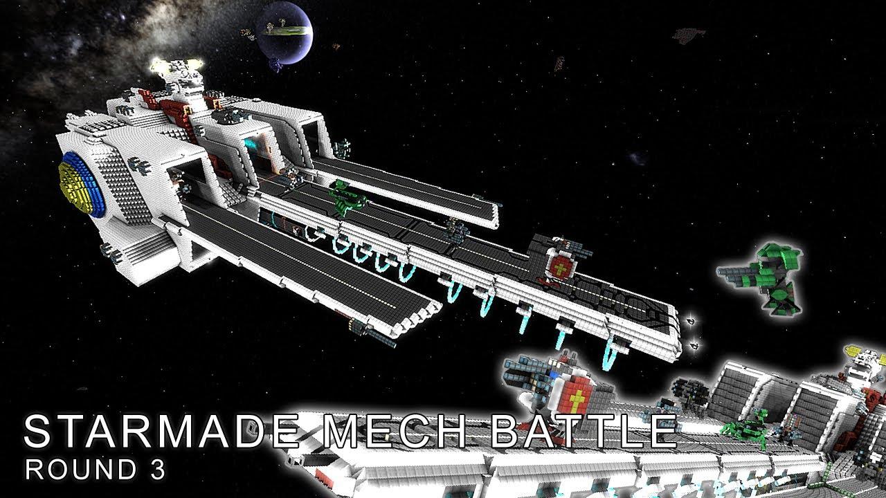Pirate Ship Wallpaper Hd Starmade Mech Battle Round 3 Mech Carrier Vs Pirate