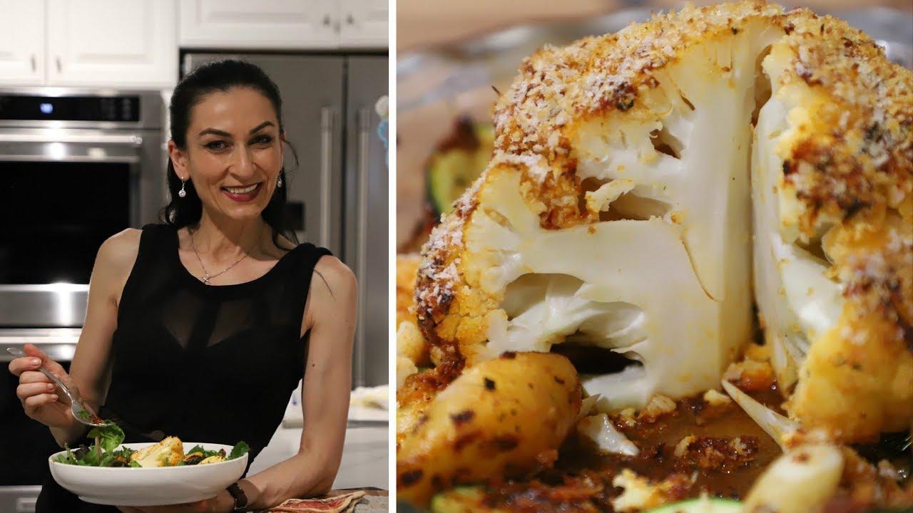 Вкуснейший Ужин за 15 Минут - Запечённая Цветная Капуста - Рецепт от Эгине - Heghineh Cooking Show