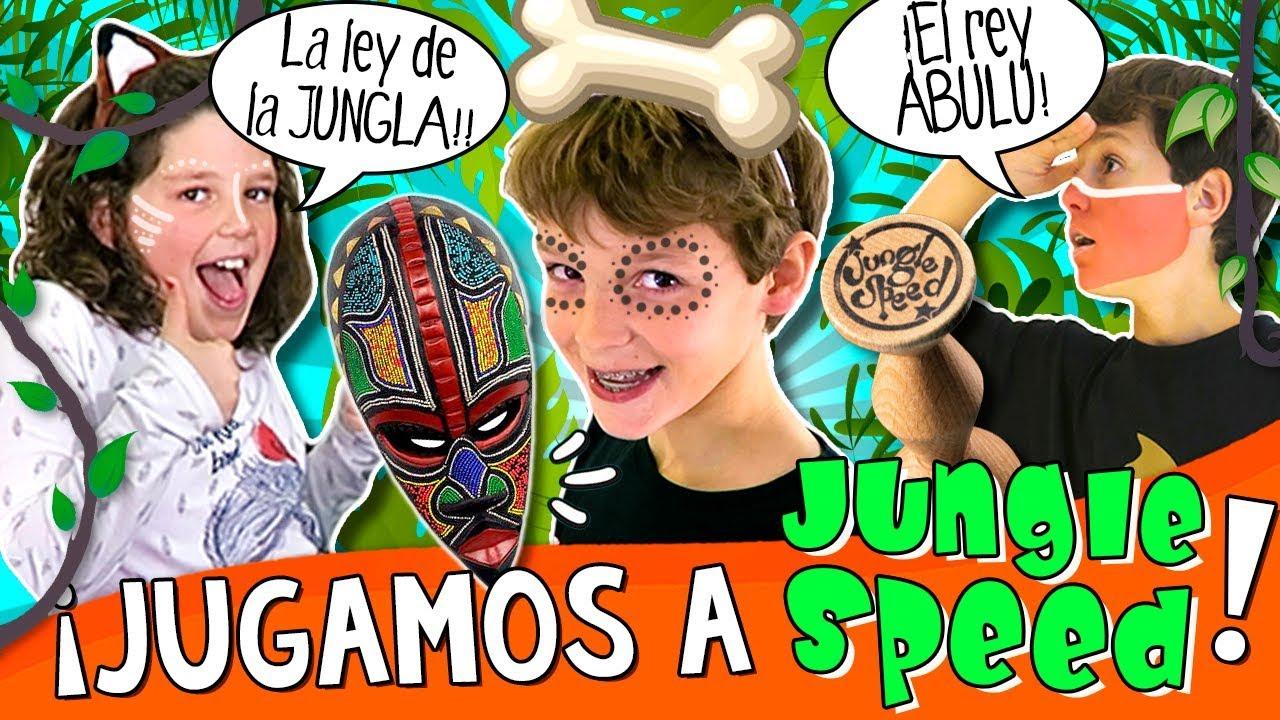 Hugo Es El Rey Abulu Jugamos A Jungle Speed Juego De Mesa