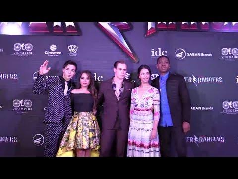 Power Rangers movie premiere in México   Facebook Live