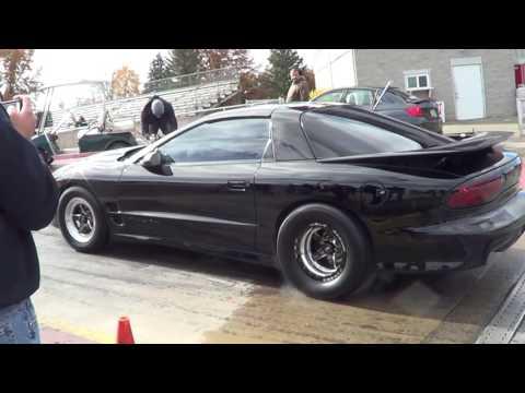 1500HP Trans Am VS 800HP Subaru roll race