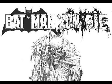 Batman black white zombie statue by neal adams review full hd