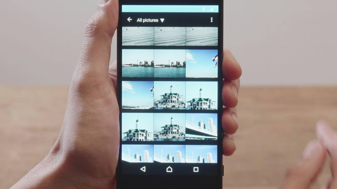 SnapBridge: Uploading Selected Images