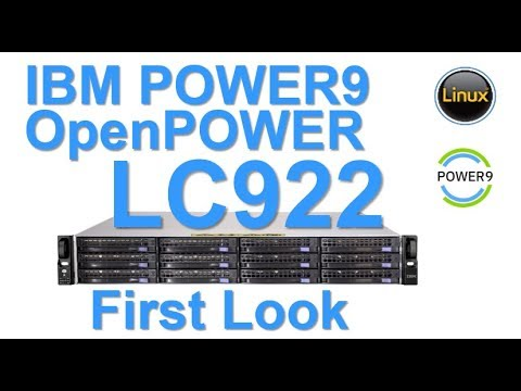 IBM POWER9 OpenPOWER LC922 First Look