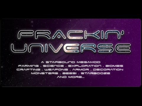 How To Install Starbound Mods Frakkin Universe Youtube