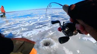 ОПУСТИЛ БАЛАНСИР НА ГЛУБИНУ 1 МЕТР И НАЧАЛОСЬ рыбалка зимой 2020
