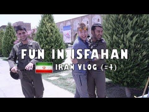 Exploring Isfahan, Iran