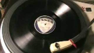 Savoy Blues - Kid Ory - Exner label 78 rpm Record
