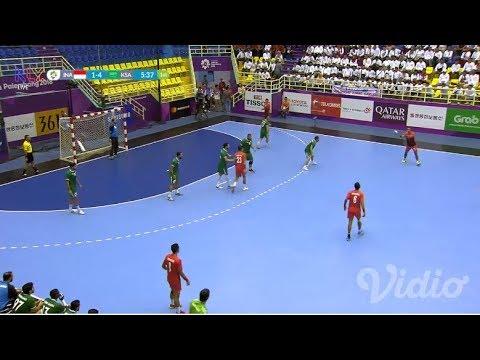 Live Streaming Asian Games 2018 - Bola Tangan Pria - Indonesia Vs Saudi Arabia