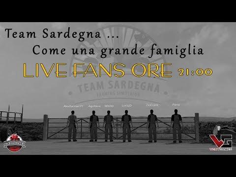 LIVE FANS CON IL TEAM SARDEGNA DE TERRA ITALICA | ALEX FARMER FS17
