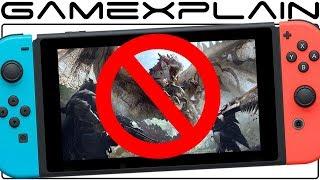 Capcom Explains Why Monster Hunter World Isn t On Nintendo Switch