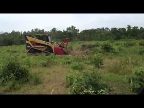 hqdefault forestry mulching with a cat 287b youtube Caterpillar 586C Forestry Mulcher at reclaimingppi.co