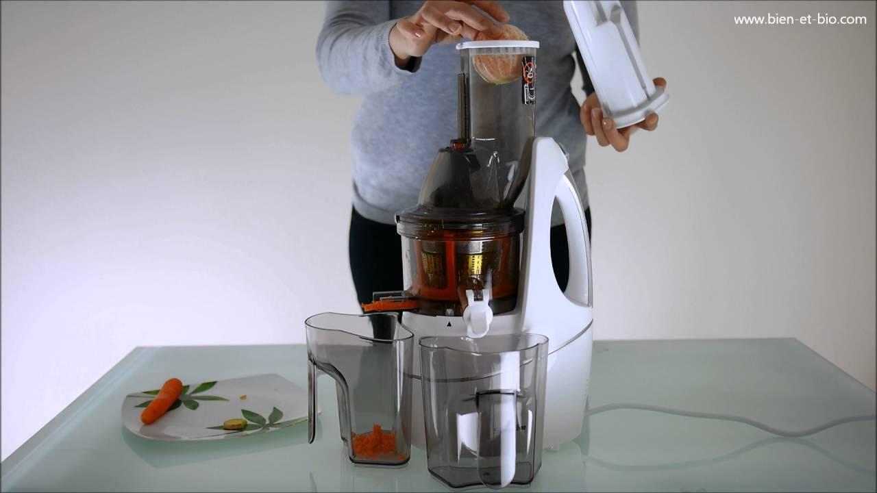 Extracteur De Jus Nutrijus2 Faire Un Jus Frais Youtube