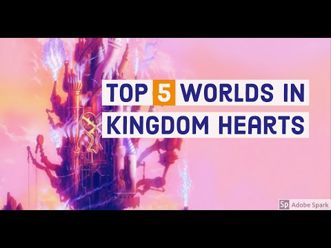 Top 5 Kingdom Hearts World's