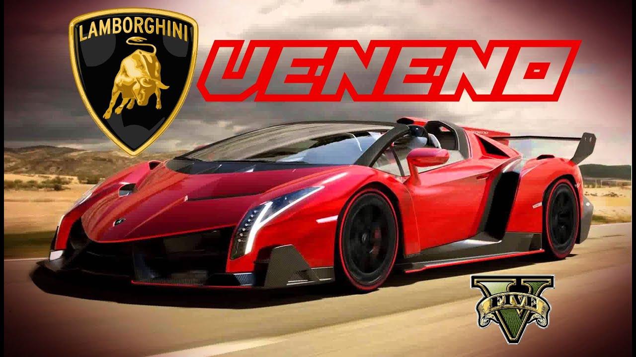 GTA5   Lamborghini Veneno Stunt