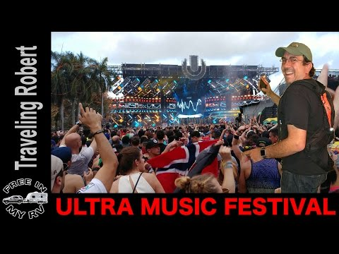 Ultra Music Festival Recap - Short Version - Popular EDM at Main Stage and beyond