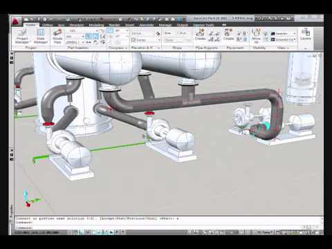 autocad plant 3d pipe routing and isometric generation