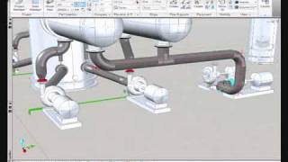 AutoCAD Plant 3D - Pipe Routing and Isometric Generation