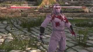 Deadliest Warrior - Ninja Gameplay - PS3