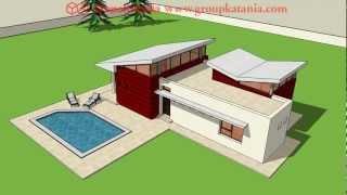 Modelo Javea. Chalet Moderno De Nueva Construcción Por Grupo Katania En Costa Blanca Y Costa Calida.