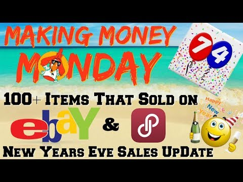 Making Money Monday Vol. 74 What Sold on EBAY & POSHMARK