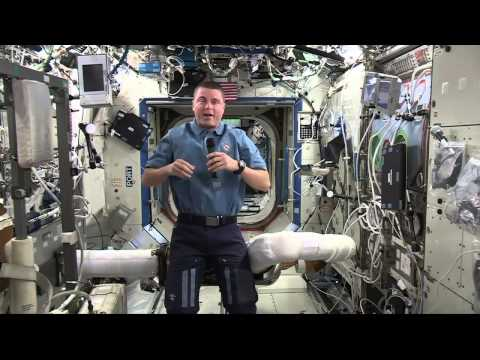 Space station astronaut talks with DC media