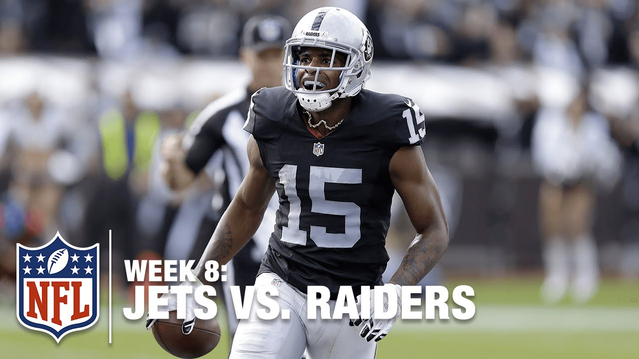 newest 34d20 8973d Michael Crabtree Bullies His Way in for a TD! | Jets vs. Raiders | NFL