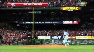 David Freese: Game 6 2011