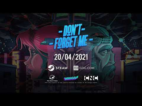 Don't Forget Me - Launch Date Announcement