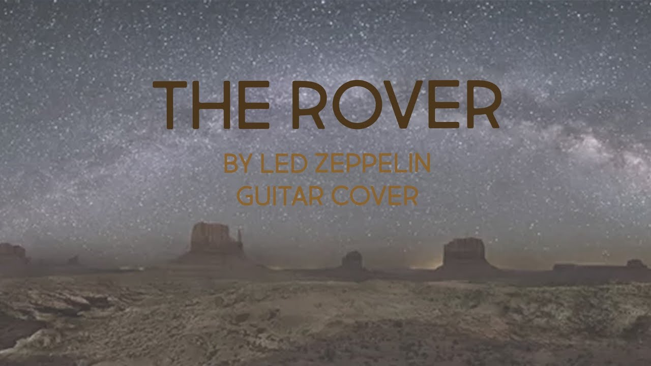 how to play the rover by led zeppelin