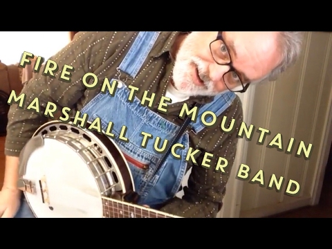 Marshall Tucker's Fire on the Mountain - Walk Thru and Demo - Bluegrass Banjo