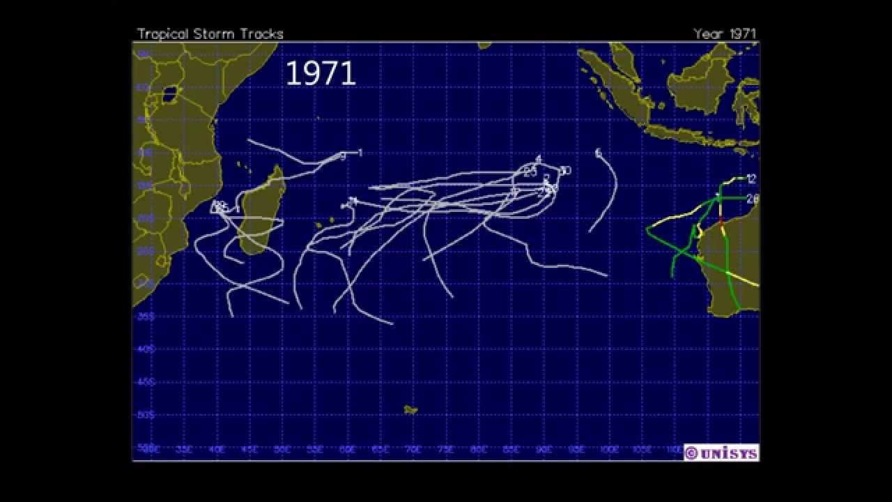 South indian ocean tropical cyclone track series for 1945 2013 youtube south indian ocean tropical cyclone track series for 1945 2013 gumiabroncs