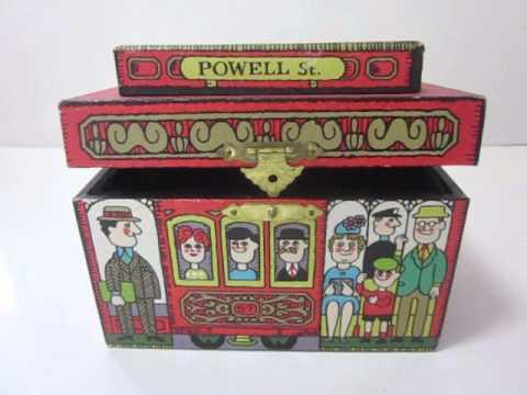 Trolly Car Music Box