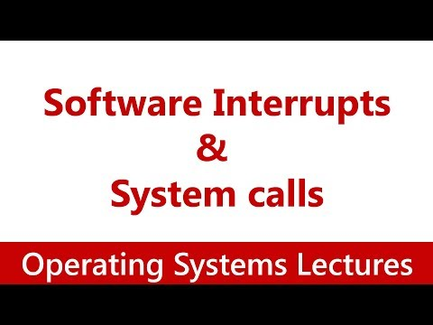 Operating System #16 Software Interrupts | System calls in xv6