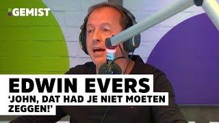 Edwin Evers schilt muzikaal appeltje met oude baas John de Mol | 538 Gemist