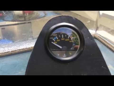 Installing Temperature Sensor & Gauge on Outboard Boat Motor