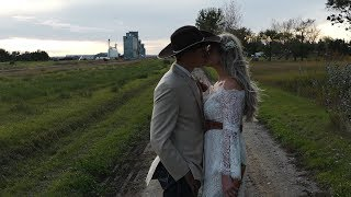 Country Rustic Wedding || Reeder North Dakota Wedding Video