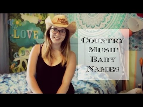 Country Music Baby Names