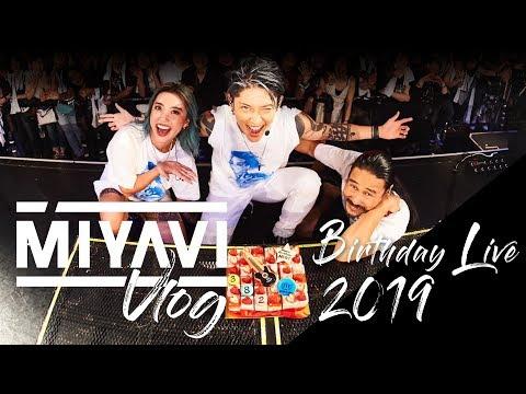 """MIYAVI Vlog """"Birthday Live2019"""""""