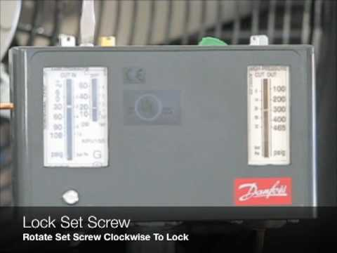 Air Conditioner Compressor Wiring Diagram Adjusting A Danfoss Dual Pressure Control Amp Reset High