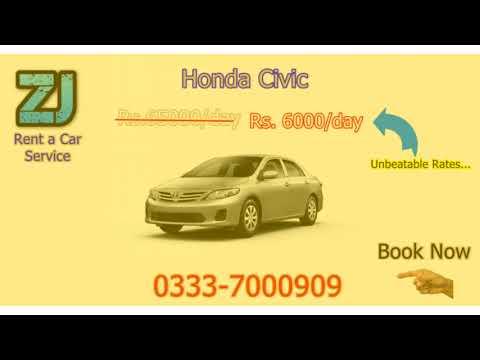 ZJ Rent a Car Offer Complete Luxury Transportation Solution in Karachi