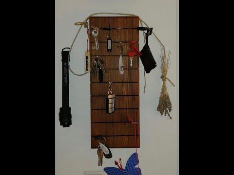 DIY Schlüsselbrett / Key Board aus Altholz