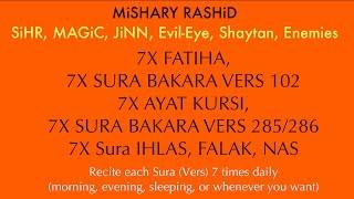 7x Fatiha, 7x Ayat Kursi, 7x Amana Rasulu, 7x Kuls | SiHR, M...