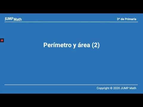 3º. Unidad 4. Perímetro y área II