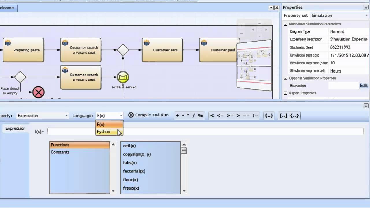bpmn 20 simulation simulationseinstellungen an gateways - Bpmn Simulation